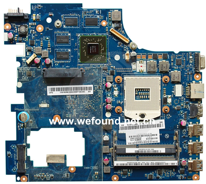 laptop Motherboard For G770 LA-6758P system mainboard, Fully Tested