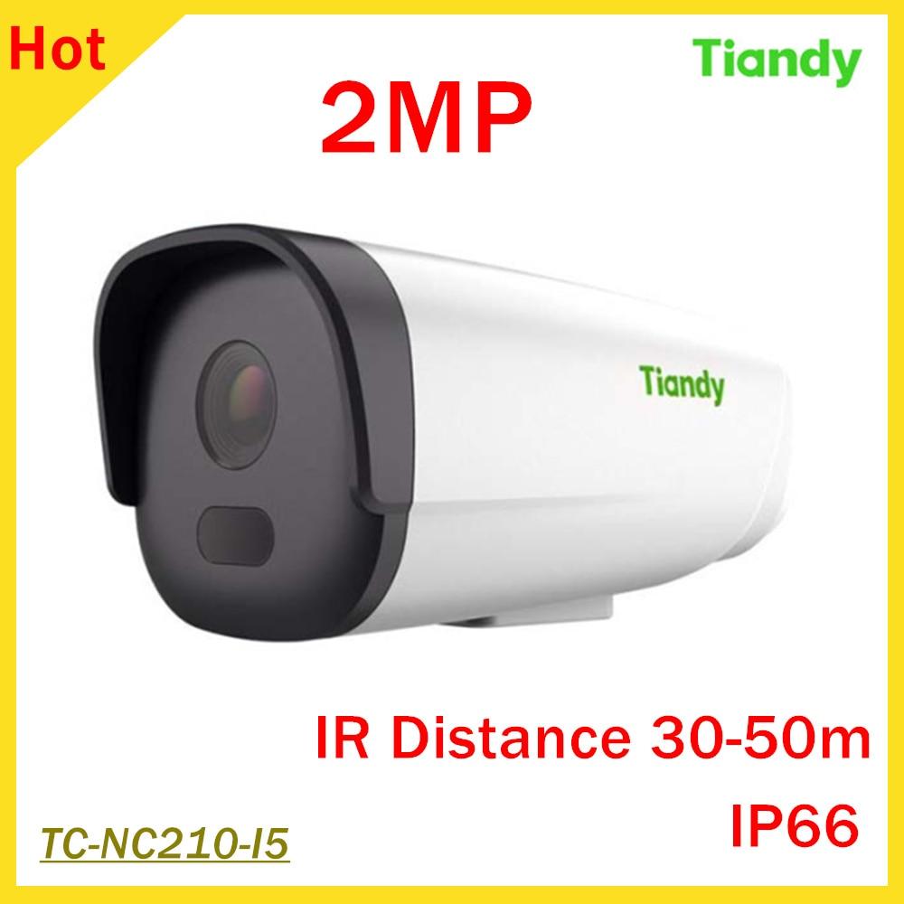 2MP English Version Tiandy IP Camera 1/2.7 CMOS 1080P IR 30-50M 2 IR leds IP66 Outdoor Network camera security camera 940 0 3 mp 1 3 cmos network ip camera w 2 0 lcd time display black 1 x 18650