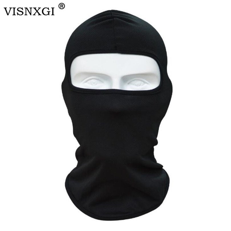 VISNXGI 2020 Unisex Balaclava Mask Windproof Cotton Full Face Neck Guard Masks Ninja Headgear Hat Riding Dustproof Headdress