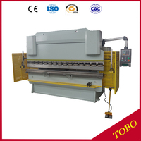 WC67K Hydraulic Press Brake Stainless Steel Sheet Bending Machine With E10 D Controller