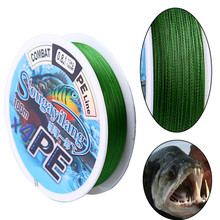 Sougayilang 100m 4Stands PE Combat Fishing Line 12-50LB Multifilament Braided Fishing Line for Boat Rock Fly Carp Fishing Tackle