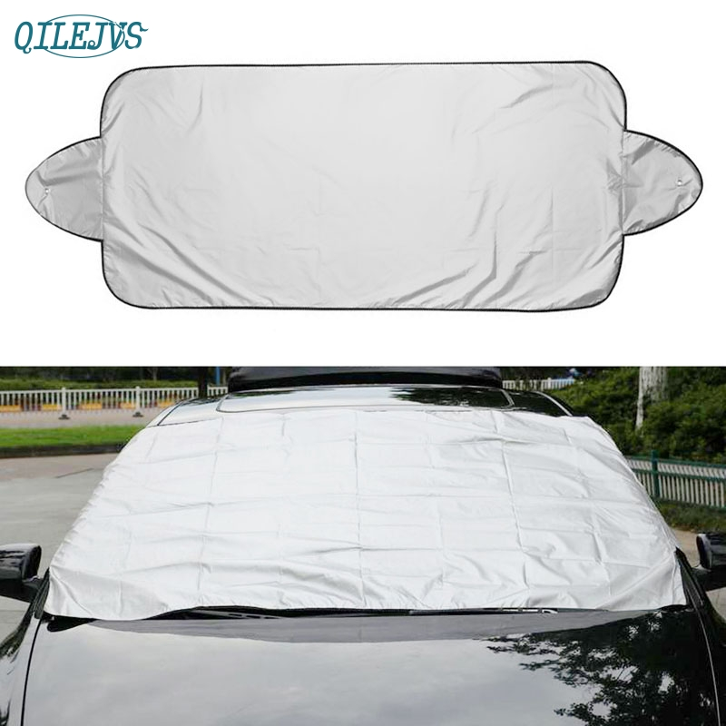 Car Auto Windshield Protector Visor Cover Sun Shade Prevent Snow Frost Ice Dust AUG21