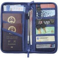 Passport Cover Travel Wallet Document Passport Holder Organizer Cover On The Passport Ticket Business Card Holder