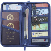 Passport Cover Travel Wallet Document Holder Organizer on The Ticket Business Card ID Waterproof