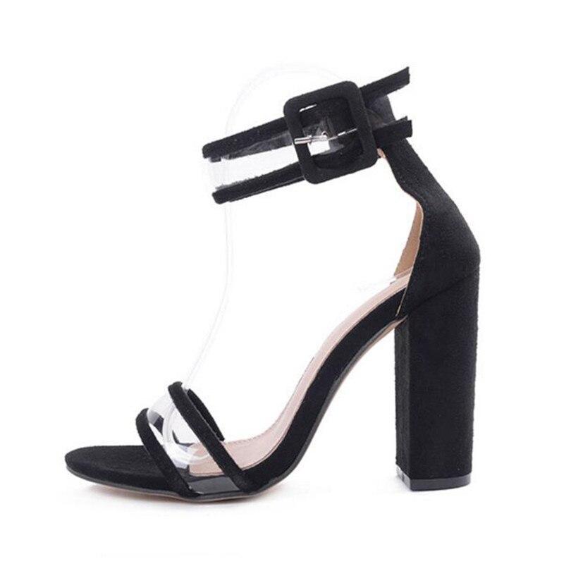 La Super gold Dames Red Chaussures D'été Black Rome Femmes Taille Talon Troupeau blue Boucle Lin Sandales Sandalias wine Haute Roi Plus Percé Gladiateur jRL45A