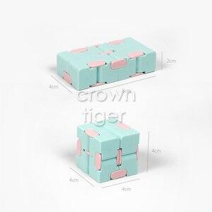 Антистресс, Infinity Cube, магический куб, Офисная раскладная кубическая головоломка, антистресс, игрушки для детей с синдромом аутизма, расслабляющая игрушка для взрослых, 2019