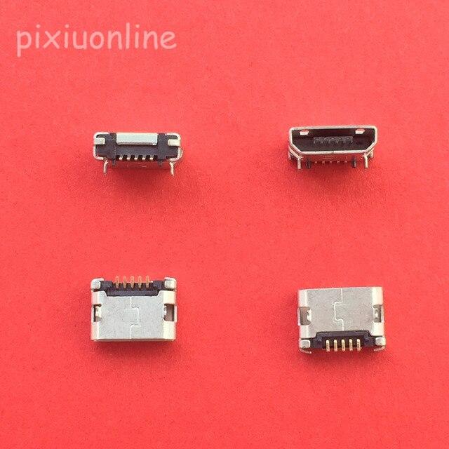 10 sztuk G19Y Micro USB 5pin żeńskie złącze do telefonu komórkowego gniazdo ładowania Micro USB proste usta sprzedaż ze stratą rosja