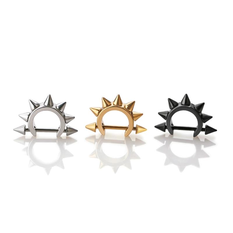 Spike σκουλαρίκια δροσερό αυτί stud από - Κοσμήματα μόδας - Φωτογραφία 2