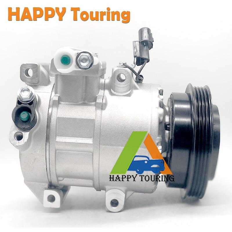 For Kia Rio /& Rio5 2006 2007 2008 2009 2010 2011 AC Compressor /& A//C Clutch
