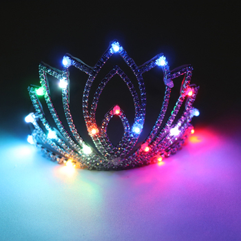 Colorful Christmas Party Glowing Wreath Halloween Crown Flower Headband Women Girls LED Light Up Hair Wreath Hairband Garlands party glowing wreath halloween crown flower headband women girls led light up hair wreath hairband garlands gift