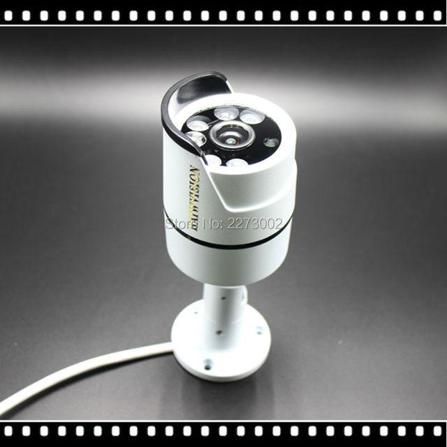 Nueva 1080 P 2.0MP ONVIF Impermeable Al Aire Libre IR CUT Visión Nocturna P2P Plug and Play Mini Bala Cámara IP POE