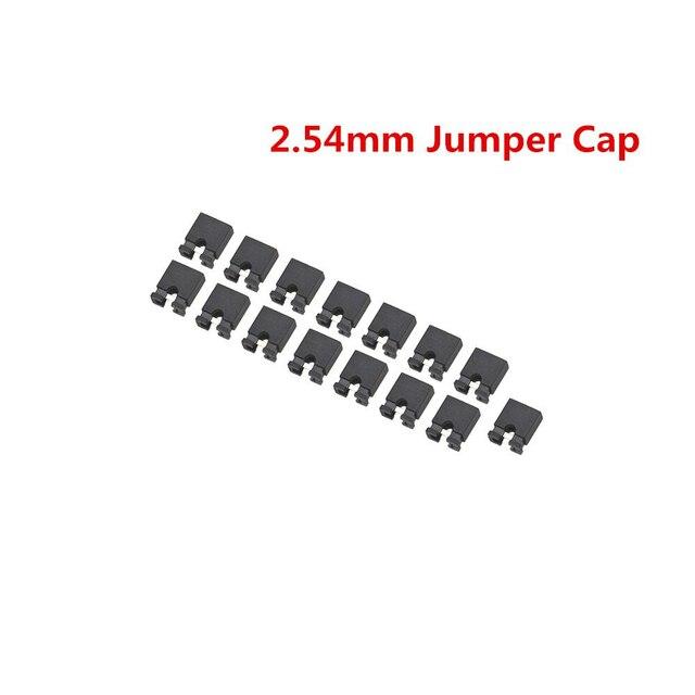 100pcs 2.54mm Jumper Caps Mini Jumper Short Circuit Caps