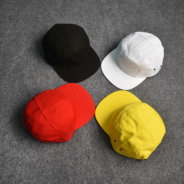 b59cfbede47 Baseball Cap 2019 New Men Women Snapback hip hop Solid summer Black White  Yellow Camp Cap Streetwear Cpas Hat Meias bone