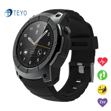 Teyo Smart Watch S958 Heart Rate Monitor Pedometer Barometer With GPS SIM Card Track Display Wrist Smart Watch For Android IOS