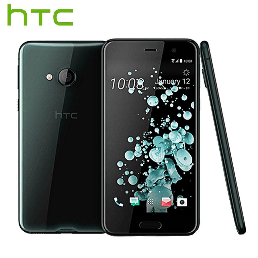 D'origine HTC U Play 4g LTE Téléphone Portable 3 gb RAM 32 gb ROM Mediatek MT6755 Octa Core 5.2 pouce FHD 1080 p 16.0MP Android Smartphone