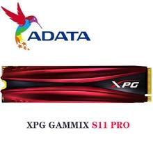 ADATA XPG unidad de estado sólido para ordenador portátil, disco duro interno de escritorio, 2280G, 256G, GAMMIX S11 Pro PCIe Gen3x4 M.2 512