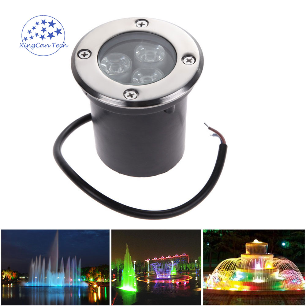 Led Lamps Led Underground Lamps 1w 3w 5w Recessed Step Underground Light Led Lamps Ip67 Outdoor Garden Spot Landscape Lighting Path Buried Yard Lamp Spotlight Cheap Sales