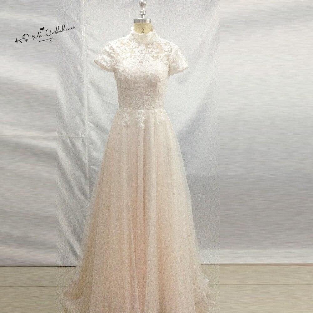 Vintage Light Pink Wedding Dress China Cheap Wedding Gowns