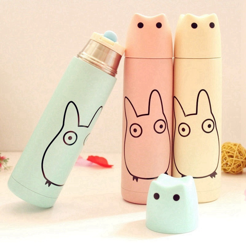 Totoro Thermos Stainless Steel Vacuum  1