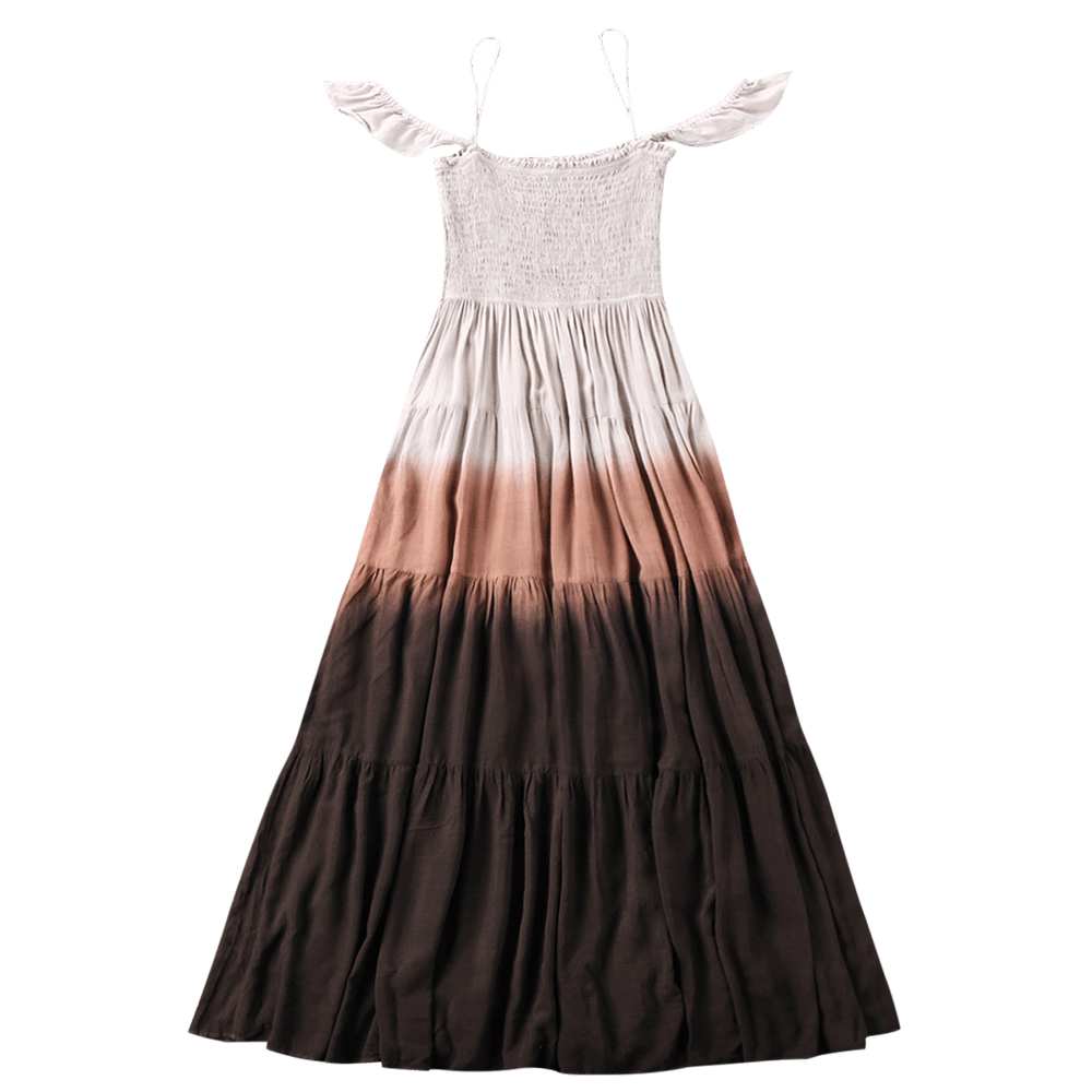 3d9baac3f49 Buy ombre long summer dress and get free shipping on AliExpress.com