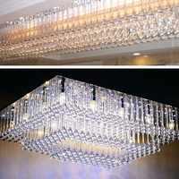 50 Uds acrílico de boda gotas de agua colgante cadena colgante para araña de guirnalda cortina decoración Interior