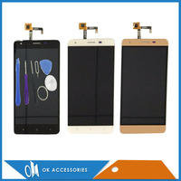 Good Quality Black White Gold Color For Oukitel K6000 Pro LCD Display With Touch Screen Panel