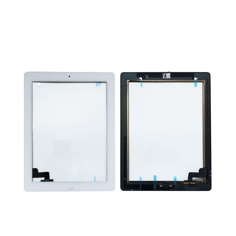 Black Touch Screen Glass Digitizer Replacement For iPad 2 2nd A1395 A1397 A1396
