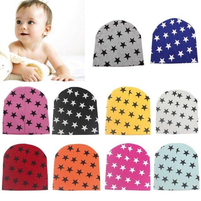 917dbb8af33 Kids Baby Cotton Beanie Soft Girl Boy Knit Hat Toddler Kid Newborn ...