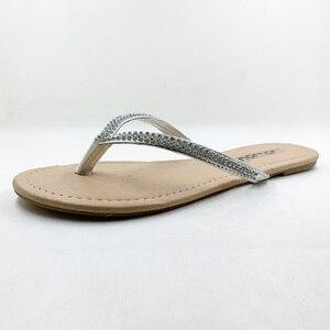 Image 2 - ใหม่2020รองเท้าผู้หญิงรองเท้าฤดูร้อนรองเท้าแตะประดับด้วยลูกปัดและดอกไม้ลำลองรองเท้าBuckle Beachดอกไม้รองเท้าแตะผู้หญิงFlip Flops