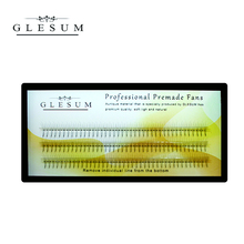 GLESUM Volume Fans Eyelashes Extension Short Stem Premade Fan Lash Hot Selling Eyelash Individual Extensions With Free Shipping