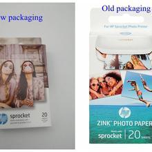 Звездочка оригинальная фотобумага Карманный фотопринтер zink паста фотобумага клейкая лента для hp Bluetooth бумага для принтера