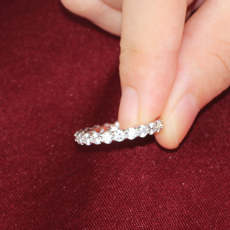 band jewel girl blog week the diamond carat anniversary bands eternity asscher pricescope of