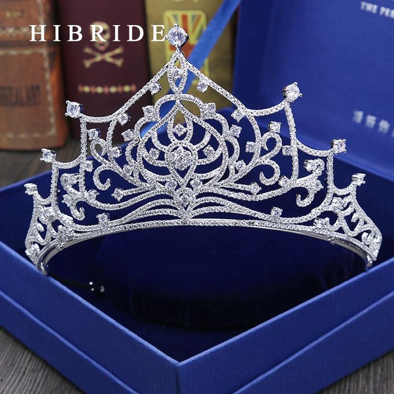 font b Luxurious b font font b Jewelry b font Cubic Zirconia Crown for Women