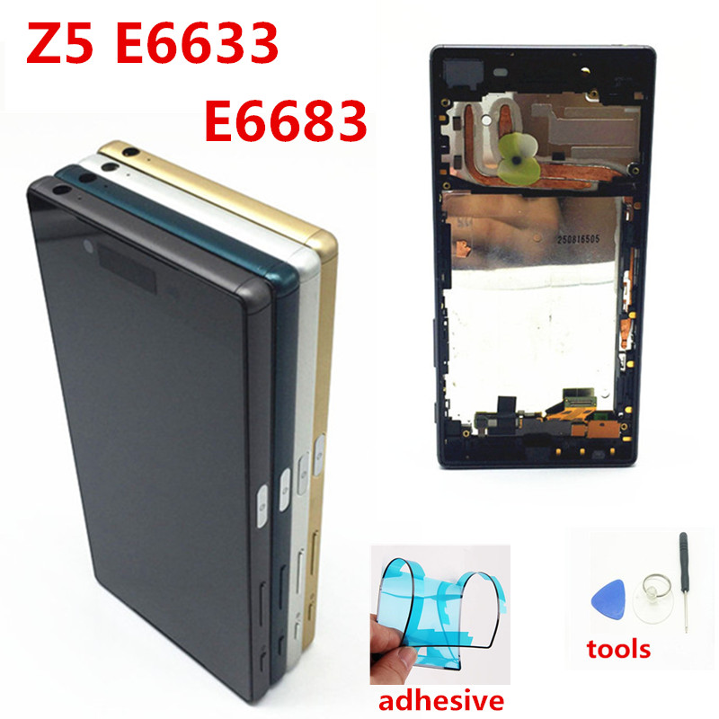 For SONY Xperia Z5 LCD Touch Screen For SONY Xperia Z5 Display For Sony Z5 Digitizer Assembly E6653 E6603 E6633 E6683