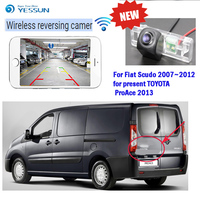 YESSUN car hd wireless rear view camera For Fiat Scudo 2007~2012 for present TOYOTA ProAce 2013 for iPhone and Android Phone CCD