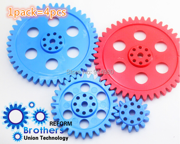 New 2 pack = 1 lot = 7.88 USD, large diameter plastic gear 8CM HM Boat Car Parts rack gear box Gearset Toy accessories