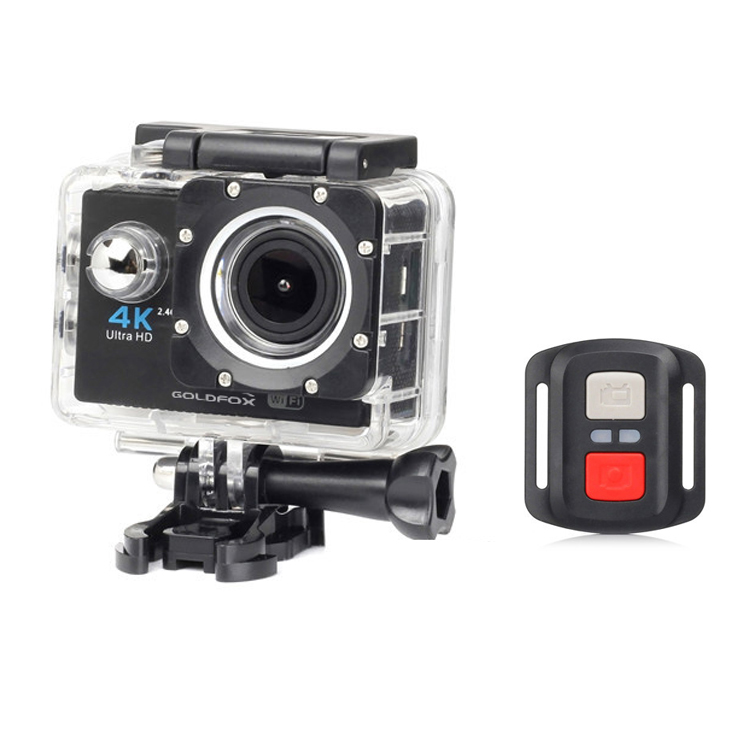 Image 2 - Ultra HD 4K WiFi Action Camera Remote Control Extreme Sports Camera DVR DV Video Recorder Camcorder go Waterproof pro Helmet Cam-in Sports & Action Video Camera from Consumer Electronics