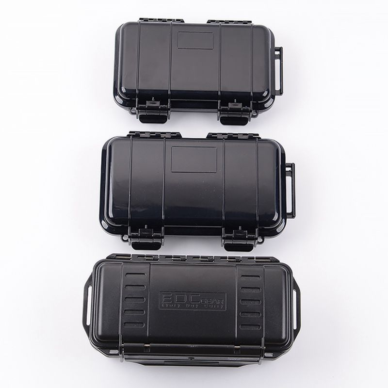 2019 New Multi Tool Shockproof Sealed Waterproof Safety Case Outdoor Survival Tools ABS Plastic Tool Box Dry Camping Equipment