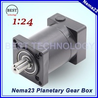 Nema23 Motor Planetary Reduction gearbox 57mm motor speed reducer ratio 1:24 Used for Nema 23 brushless motor Planetary Gearbox
