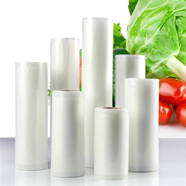 OUNONA Kithen alimentaire scelleur Sous Vide sac de rangement espace sauver sacs garder frais en relief qualité commerciale pour Sous Vide 5