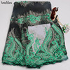 2017 African High Quality Mesh Lace Lace Fabrics Voile France Gauze Mesh Network Lace Lace Wedding