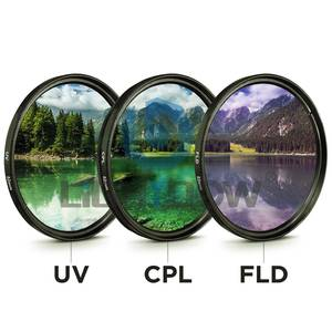 49 MM 52 MM 55 MM 58 MM 62 MM 67 MM 72 MM 77 MM Lens Filter Set for Cannon
