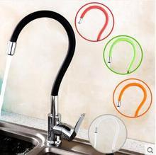 Кухонный кран Красочный Медь водопроводной воды холодной и горячей кран Раковины Растительное стиральная бассейна раковина смеситель 360 градусов вращающийся кран