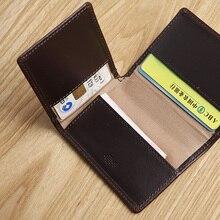 LAN мужской кожаный чехол для кредитных карт с несколькими отделениями для карт samll bank card чехол traval для карт