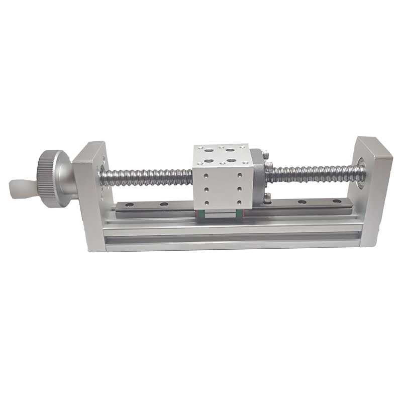 X Axis Ball screw Sliver Manual Linear Stage Displacement Stage Optical Sliding Table Translation stage PT-JY100/200 X Axis Ball screw Sliver Manual Linear Stage Displacement Stage Optical Sliding Table Translation stage PT-JY100/200