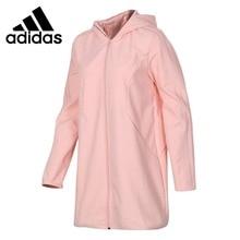 Оригинальное новое поступление Адидас Нео лейбл OS EMBRD PK Женская куртка с капюшоном спортивная одежда