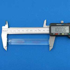 "Image 5 - HACCURY גודל 14*100mm דיוק 4 ""/2mm זכוכית גבוהה דיוק inclinometer צינורי בועת רמת גלילי פלס בקבוקון"