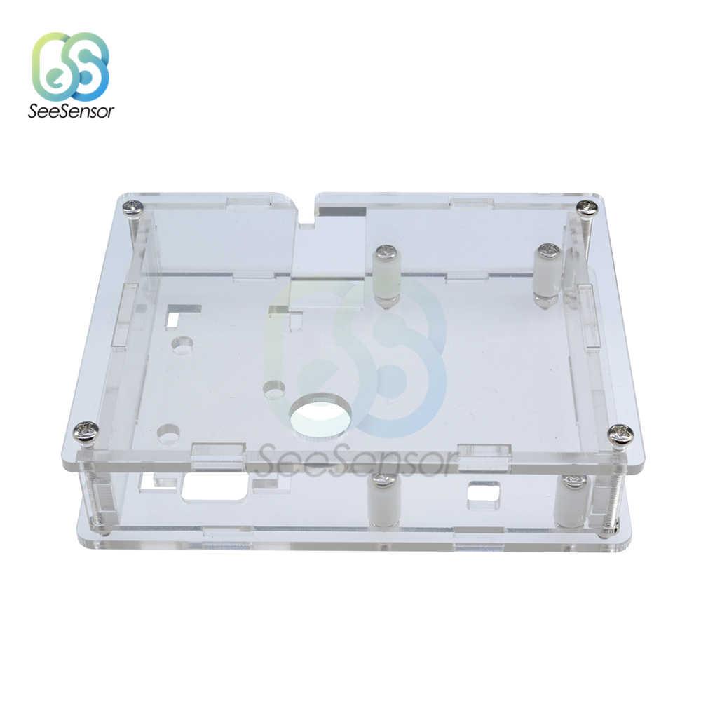 透明アクリルケースシェルボックス LCR-T4 ため ESR トランジスタテスター容量