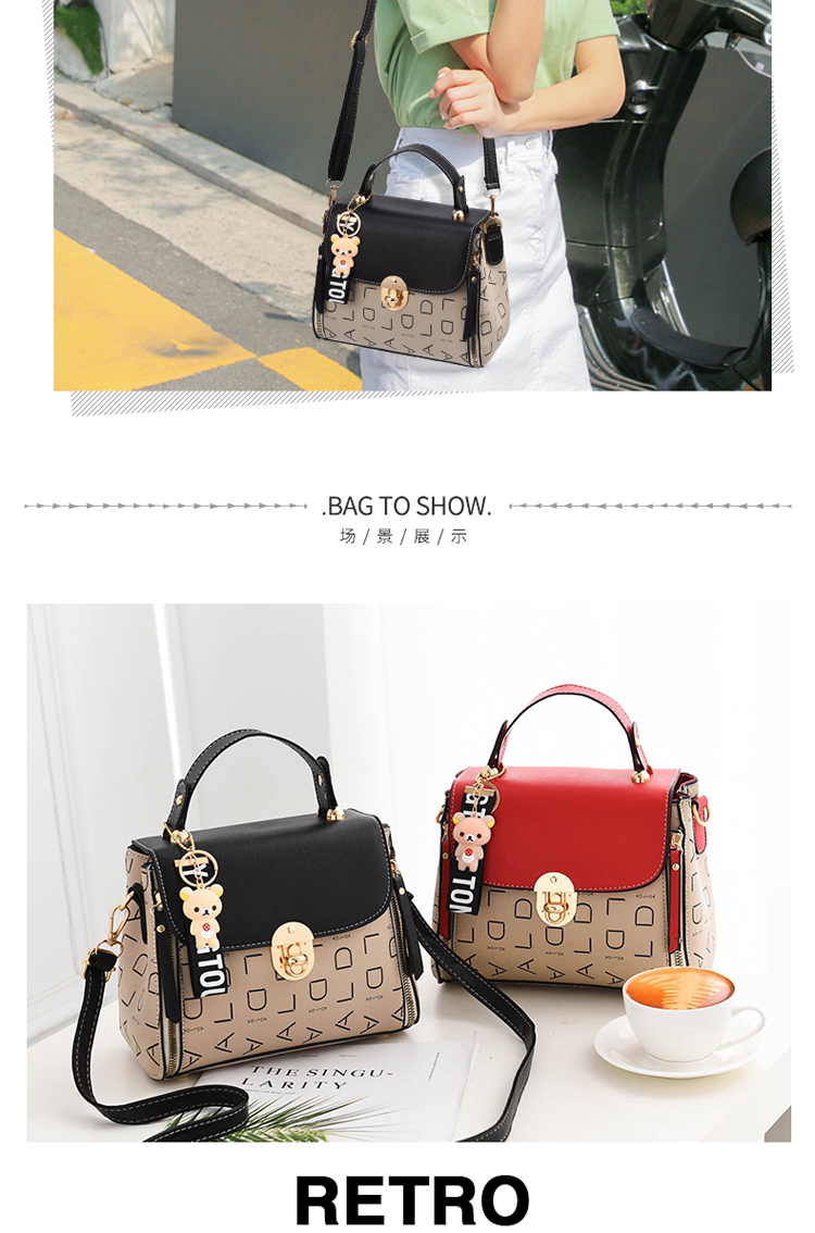 Popular Woman Handbags Fashion Leather Messenger Bag Trendy new one-shoulder diagonal small square bag Bolsa Feminina louis gg 52