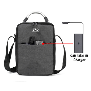 Image 2 - DJI Mavic 2 Pro/ Zoom Drone for drone body battery controller charger cables nylon Carry Case Handbag for DJI Mavic 2 drone